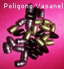 Palle Colore e Resinate cal. 9 RN 125 grs